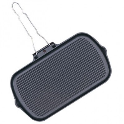 Vogue Rectangular Enamelled Grill Pan