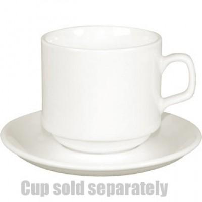 Lumina Fine China  Stacking Coffee Saucers