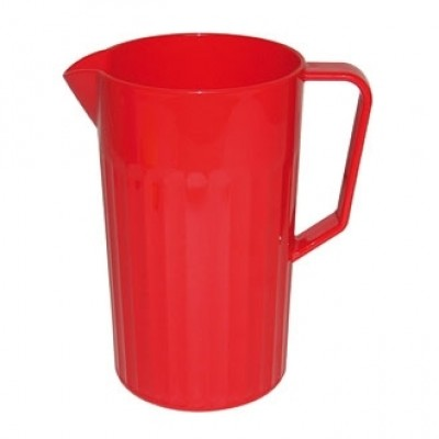 Kristallon Red Polycarbonate Jug