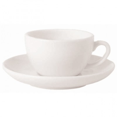 Royal Porcelain Classic White Espresso (90ml) Saucer 125mm
