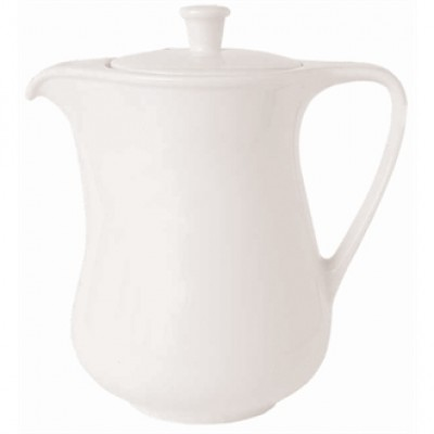 Royal Porcelain Classic White Coffee Pot 1 litre