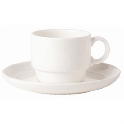 Royal Bone China Bone Ascot Stacking Coffee Cup 200ml