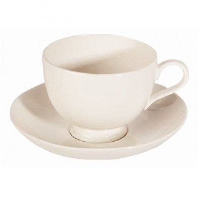 Royal Bone China Bone Ascot Coupe Saucer
