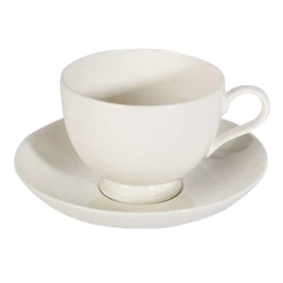 Royal Bone China Bone Ascot Coupe Saucer 130mm