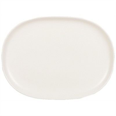 Churchill Alchemy Moonstone Oval Plate 167 x 225mm