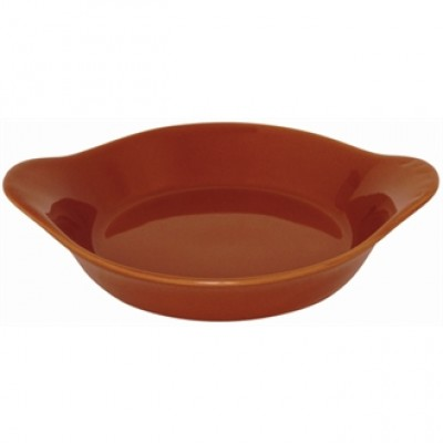 DK824 Olympia Round Eared Dish (Rustic)