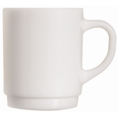 Arcoroc Opal Stacking Mug 290ml