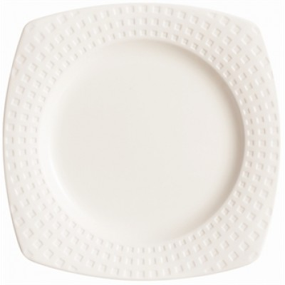 Chef & Sommelier Satinique Square Side B&B Plate 150mm