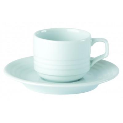 Porcelite Focus Espresso / Coffee Saucer 13cm