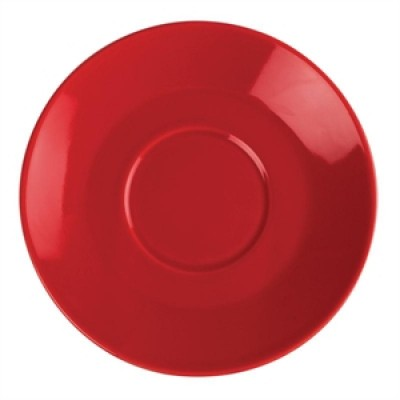 Olympia Cafe Saucer Red 158mm