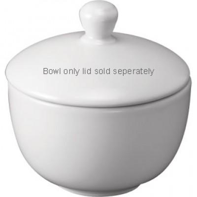 Churchill Plain Whiteware Sugar Bowl 3 1/2''