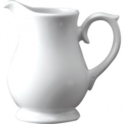 Churchill Plain Whiteware Sandringham Jug 5oz