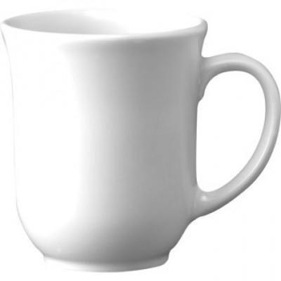 Churchill Plain Whiteware Elegant Mug 10oz