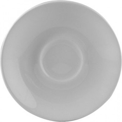 Churchill Plain Whiteware Espresso Saucer 4 1/2""