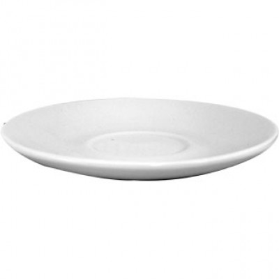 Churchill Plain Whiteware Saucer