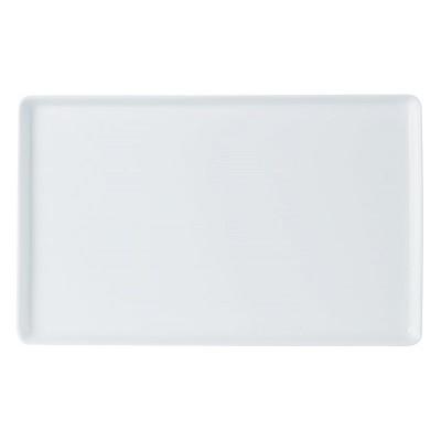 Porcelite Creations Rectangular Flat Serving Platter