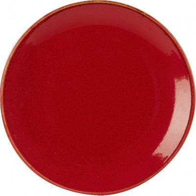 Porcelite Seasons Magma Coupe Plate 18cm