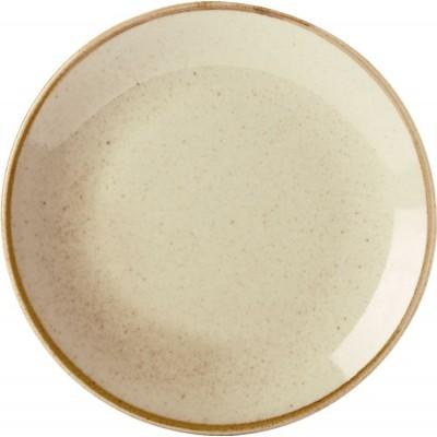 Porcelite Seasons Wheat Coupe Plate 18cm