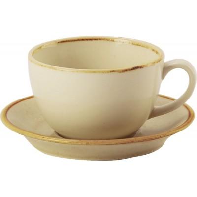 Porcelite Seasons Wheat Bowl Shape Cup 9oz