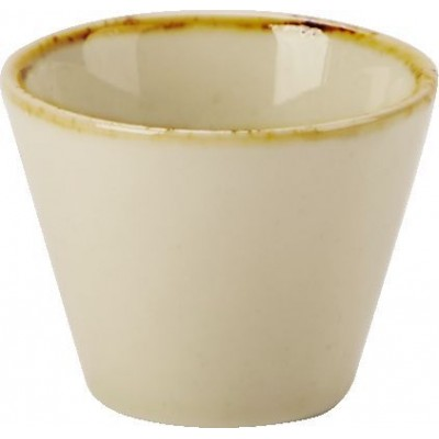 Porcelite Seasons Wheat Conic Bowl 5.5cm