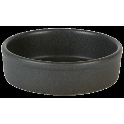 Rustico Carbon Round Tapas Dish 12.5cm