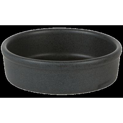 Rustico Carbon Round Tapas Dish 10cm