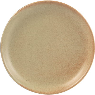 Rustico Flame Coupe Plate 24cm