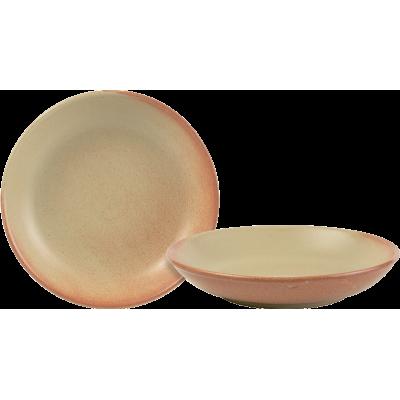 Rustico Flame Individual Pasta Bowl 21cm