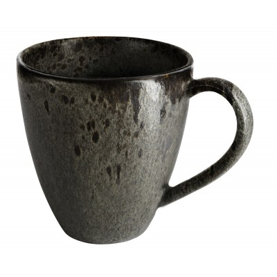Rustico Black Ironstone Mug