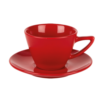 Simply Red Saucer
