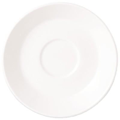 "Steelite Simplicity White Slimline Saucer 6"""