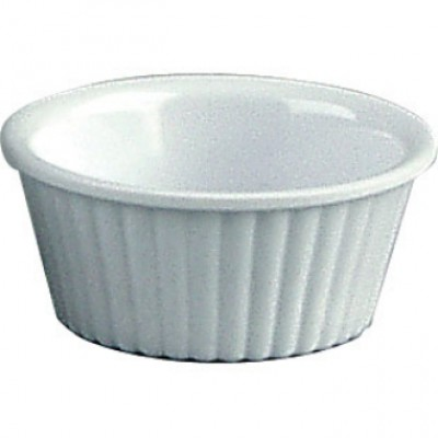 Kristallon White Fluted Ramekin