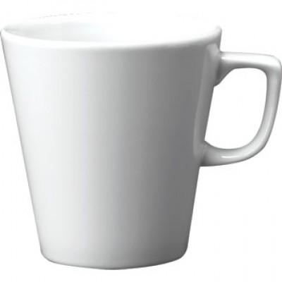 Churchill Plain Whiteware Cafe Latte Mug 16oz