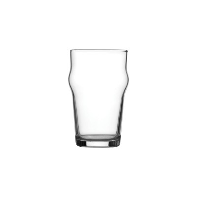 Utopia Nonic Nucleated Toughened Beer Glass
