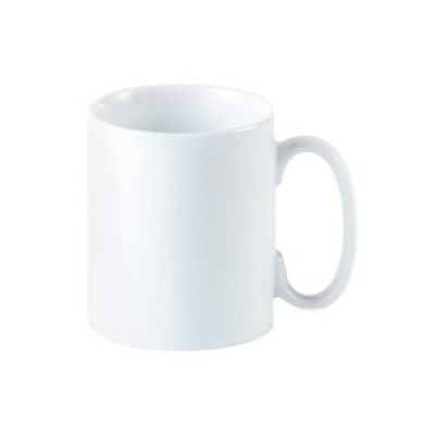 Porcelite Straight Sided Mug 12oz