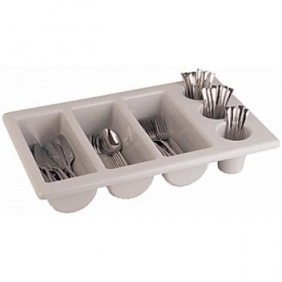 Stackable Plastic Cutlery Dispenser