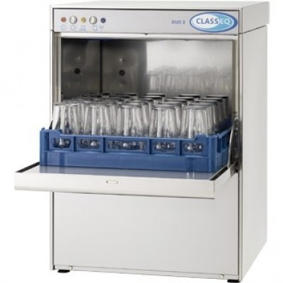 Classeq Glasswasher G500DUOWS  with Water Softener