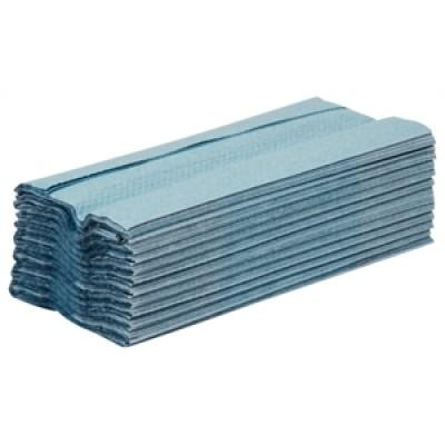 Jantex Blue C-Fold Hand Towels