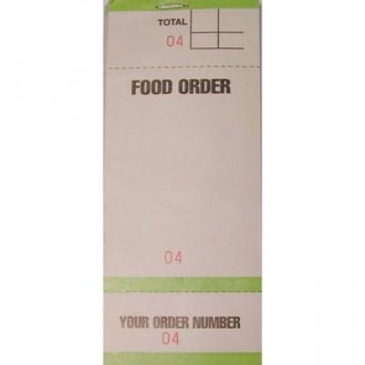 Bar Food Order Pad