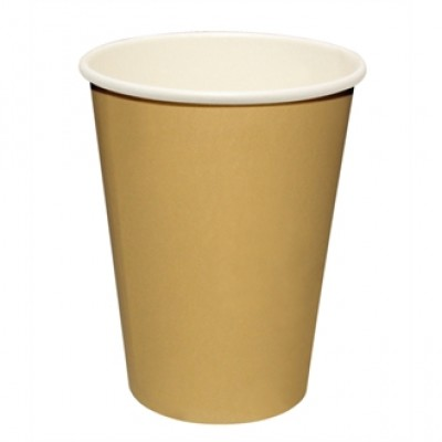 Fiesta Disposable Hot Cups Brown 8oz (50)