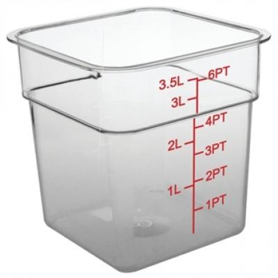 Polycarbonate Square Storage Container