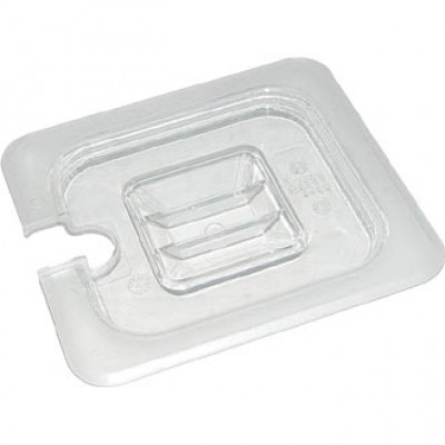 Polycarbonate Gastronorm Notched Lid