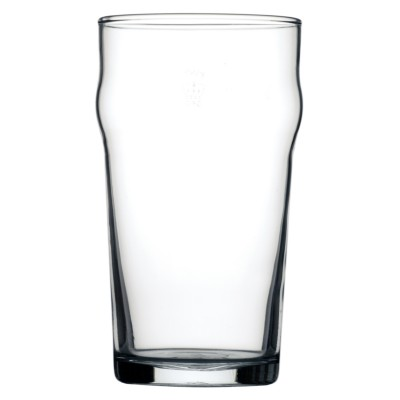 Arcoroc Nonic Beer Glass CE