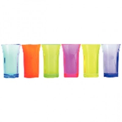 Mixed Colour shot Glass