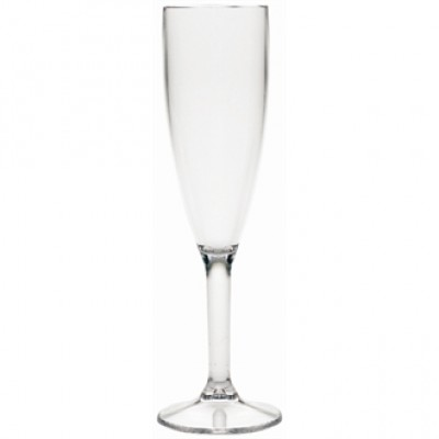 Polycarbonate Champagne Flutes CE Marked at 175ml