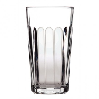 Libbey Duratuff Panelled Hi Ball Glass