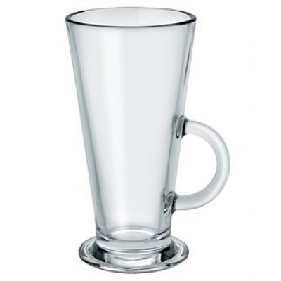 Conic Latte Glass
