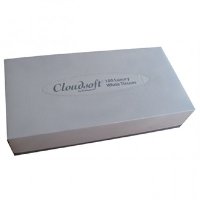 Cloudsoft Rectangular Tissue Box