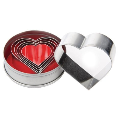 Heart Pastry Cutter Set