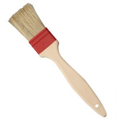 Matfer Pastry Brush Natural Flat Bristles - 60mm Long
